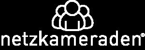 Netzkameraden Logo weiß